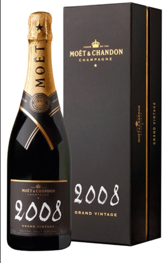 Vintage 2008 Moët and Chandon Champagne